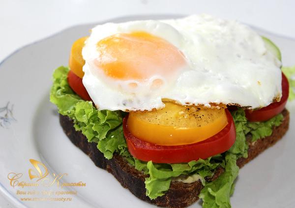 рецепт диетического сэндвича