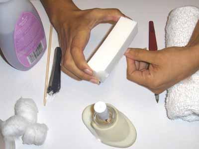 как правильно полировать ногти