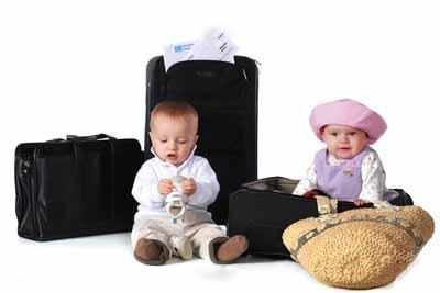 как подготовить перелет с ребенком