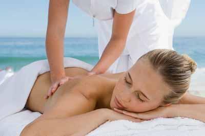 как подготовиться к массажу на пляже