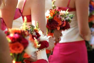 свадебные цветы