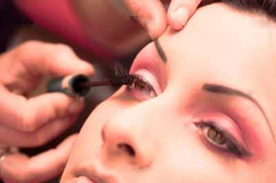 как делать перманентный макияж глаз