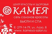 Новогодняя акция в сети салонов красоты Камея